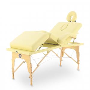 Массажный стол переносной с деревянной рамой JF-Tapered